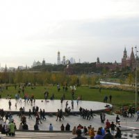 Панорама парка Зарядье :: Анна Воробьева