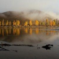Осень на фоне гор :: Галина Козлова