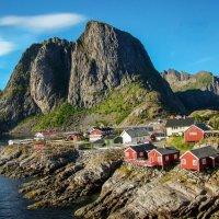 Северная Норвегия. Лофотенские острова. Переезд в Москинес. :: Надежда Лаптева