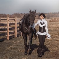 Юлия и Гарсон :: Анастасия ЛЕОНОВА