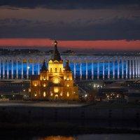 Вечерний кафедральный собор :: Алексей Медведев