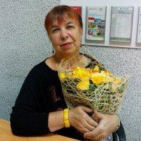 Желтые цветы. :: Венера Чуйкова