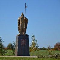 Древнерусскому воину Волоту :: Сергей Щеблыкин