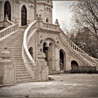 Быково. Церковь Владимирской Иконы Божией Матери.. Лестницы... :: Николай Панов
