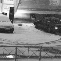 А у нас пошел снег! :: galina bronnikova