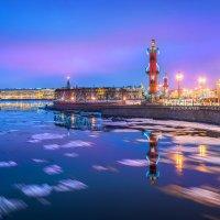 Вид на Стрелку :: Юлия Батурина