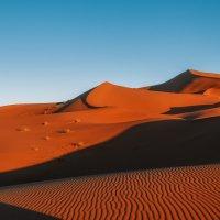 Предзакатная...Сахара.Марокко! :: Александр Вивчарик