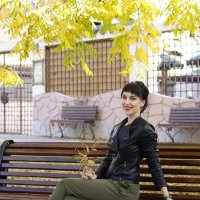 На лавочке :: Наталия Сарана