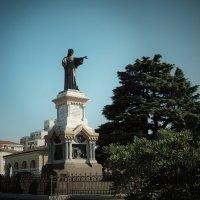 Брешия, Италия, памятник Arnaldo da Brescia :: Swetlana V