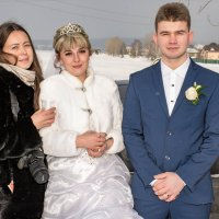 Февральская свадьба :: Владимир Фролов