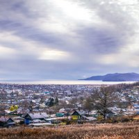 Поселок Шкотово, бухта Муравьиная, Приморский край :: Эдуард Куклин