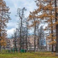 Городок,октябрь... :: Aquarius - Сергей