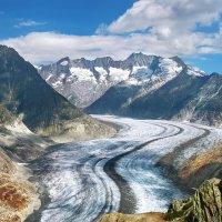 Алечский ледник :: Elena Wymann