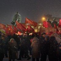 Красное ноября_2018 :: Олег Терёхин