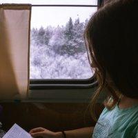 Чтение в поезде :: Иван Мингазов