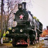 Паровоз Су215-80 :: Сергей Беличев