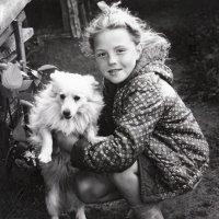С любимой собакой :: Николай Мартынов
