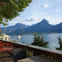 Вид на Вольфгангзее в Австрии... :: Galina Dzubina