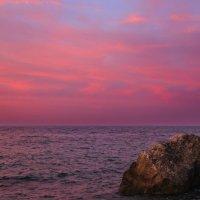 осенний закат на море :: valeriy g_g