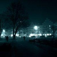 Туман в городе. (2) :: Дмитрий Олегович