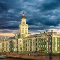 Кунсткамера Петра I на Васильевском острове, Санкт-Петербург :: Максим Хрусталев