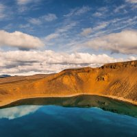 На вершине кратера... Исландия! :: Александр Вивчарик