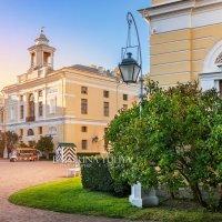 Дворец в Павловске и фонарь :: Юлия Батурина