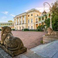 Дворец в Павловске и львы :: Юлия Батурина