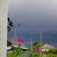 В деревне Воронинская перед грозой :: Виктор Мухин