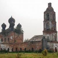 Семендяево. Церковь Богоявления Господня :: Сергей Никитин