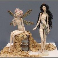 Шарнирные куклы-бабочки :: ZNatasha -