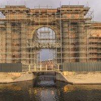 Новая Голландия. Реставрационные работы идут полным ходом. :: bajguz igor