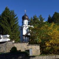 Церковь Николая Чудотворца в Белокурихе :: Вера Андреева