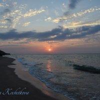 Крым. Закат на Генеральских пляжах. :: Nataliya Kochetkova