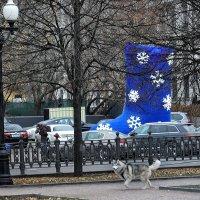 Цветной бульвар в ожидании снега! :: Татьяна Помогалова