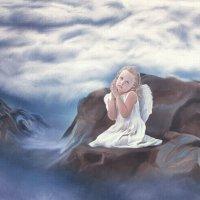 Молитва (Ангелочек) :: Евгений Тайдаков