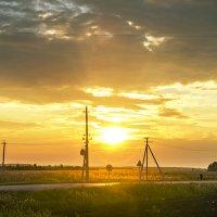 Закат над Сибирью :: Денис Зятьков