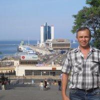 Вид с Потемкинской лестницы :: Валентин Нестеренко