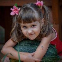 Девочка с хвостиками :: Наталья Нефедева
