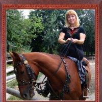 На лошади :: Ростислав
