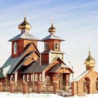 Церковь Серафима Саровского .г.Новый Уренгой. :: Vasiliy Sorokhan