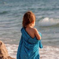 Дочь и море :: Антон Веснин