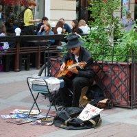 Уличный музыкант :: Татьяна Полева