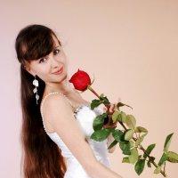 Красная роза-символ любви :: Вероника Подрезова