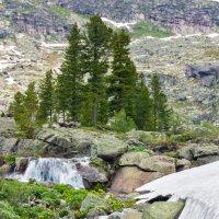 Начало водопада Мраморного :: Юлия Павленко
