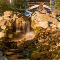 Искусственный водопад :: Глеб Буй