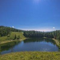 Озеро в горах :: Жанна Мальцева