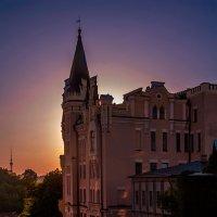 Киев, Андреевский спуск,закат :: Николай Печурин