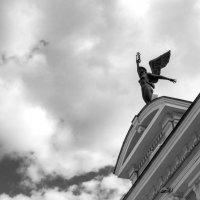 Муза на крыше драм. театра :: Полина Королева