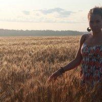 Плывущая по полю пшеницы :: Влад Ложкин